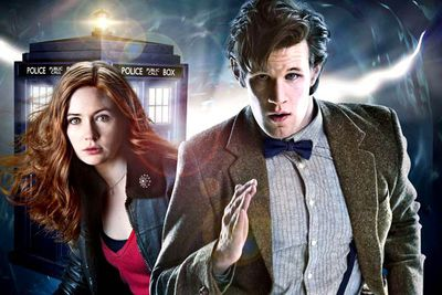 "David Tennant, once voted the all-time best Doctor of all time, exited <I>Doctor Who</I> at the start of 2010. His replacement: then-26-year-old actor Matt Smith, who had a mighty big TARDIS to fill. Happily, Matt and his bowtie proved a fantastic fit for Doctor Who, ushering the sci-fi classic into a slightly darker but just as awesome era. And he even has his own catchphrase: ""<I>Geronimooooo</I>!"""