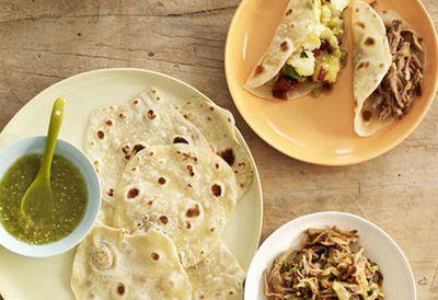 Friday: Potato and chorizo tacos