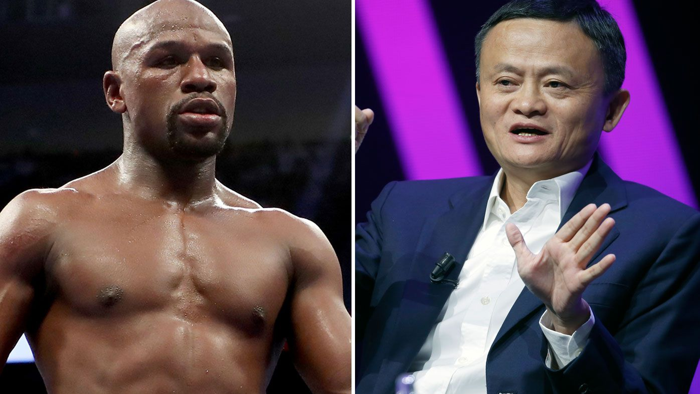 Floyd Mayweather and Jack Ma