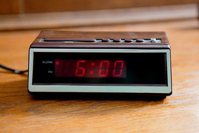 Ditch the alarm clock — or at least turn it around