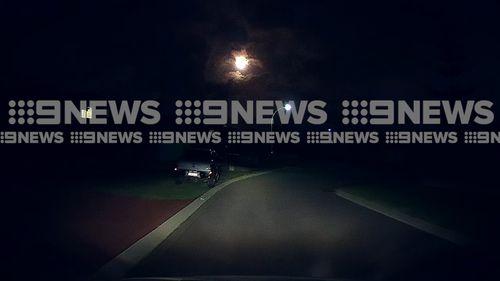 A meteor streaked over the wheatbelt region around Perth last night stunning onlookers. (Supplied)