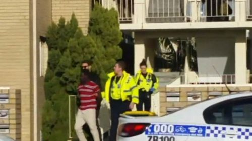 Police and Tactical Operations officers took the man into custody two hours after the ordeal began. Image: 9News