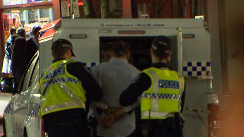 A 43-year-old Giles Plains man was arrested and refused bail. Image: 9News
