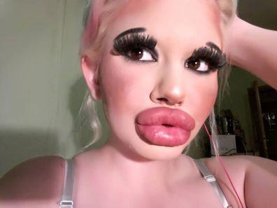Andrea Emilova Ivanova aiming for the biggest lips in the world