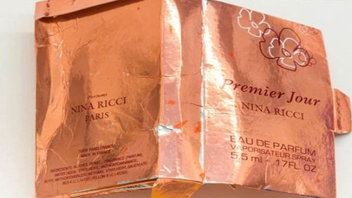 Pictures of the counterfeit Nina Ricci bottle have been released by police.
