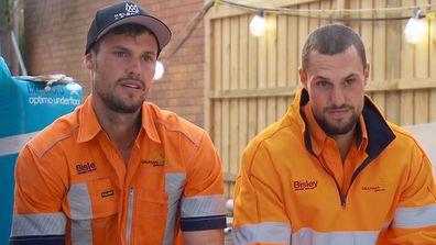 Josh and Luke The Block 2021