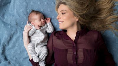 Erin Molan welcomes her first child