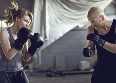 <strong>Boxing (sparring) - 15 minutes</strong>