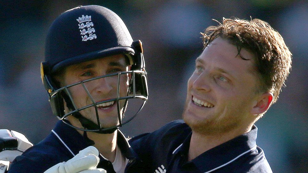 Jos Buttler and Chris Woakes