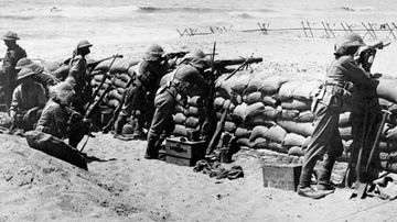 Armistice centenary: The end of the Middle East war