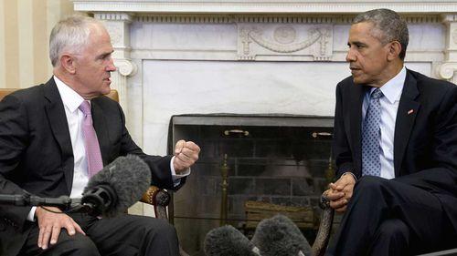 Malcolm Turnbull makes Barack Obama's favourites list