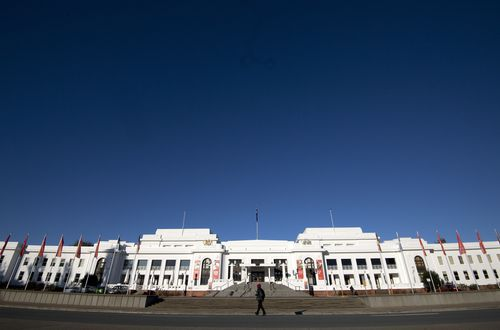 Old Parliament House remains a tourist attraction. (AAP)