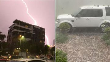Sydney thunderstorms weather