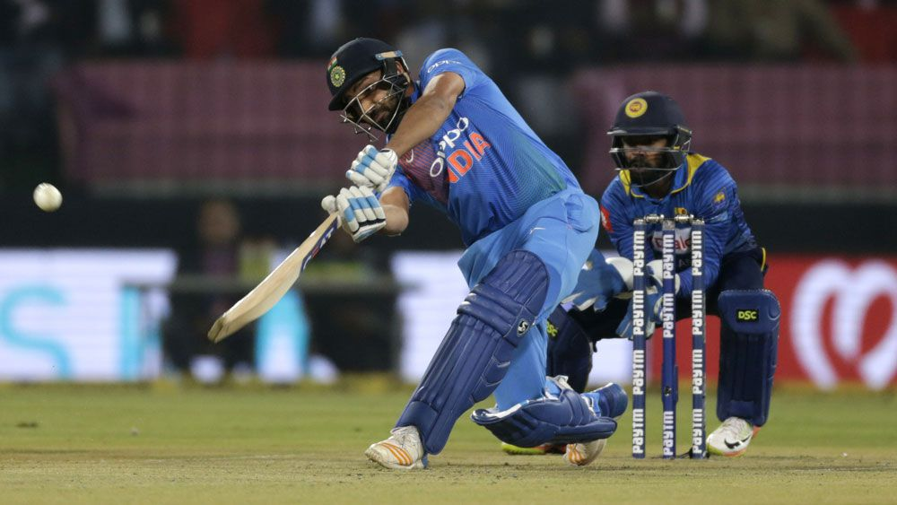 India's Rohit Sharma equals record for fastest century in T20 match against Sri Lanka