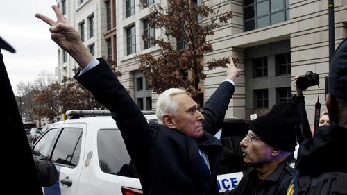 Roger Stone was a central figure in the investigation into Russian interference in the 2016 election.