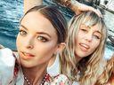Kaitlynn Carter, Miley Cyrus, Instagram, photo, Italy, holiday