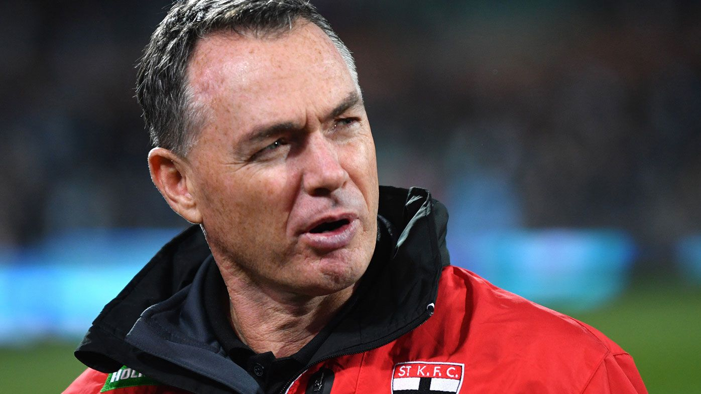 Saints coach Alan Richardson lashes team over loss to Bulldogs