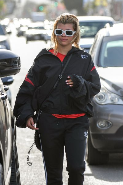Sofia Richie does Sunday casual.