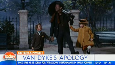 Dick Van Dyke apologises for his 'atrocious' cockney accent in Mary Poppins