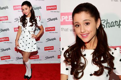 Is that Ariana Grande or a life-sized china doll?