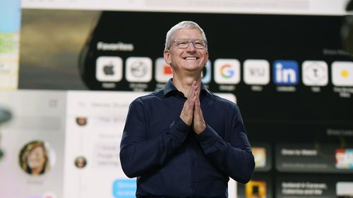 Apple CEO Tim Cook just celebrated 10 years on the job.