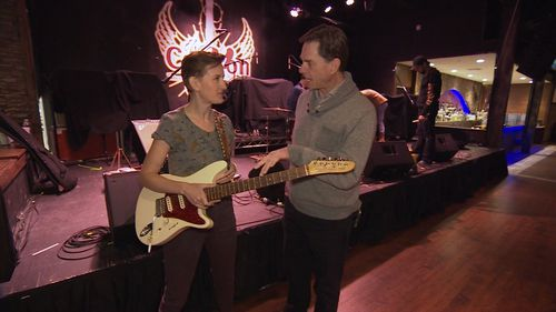 Her band has been hopping from state-to-state in American for years now. (9NEWS)