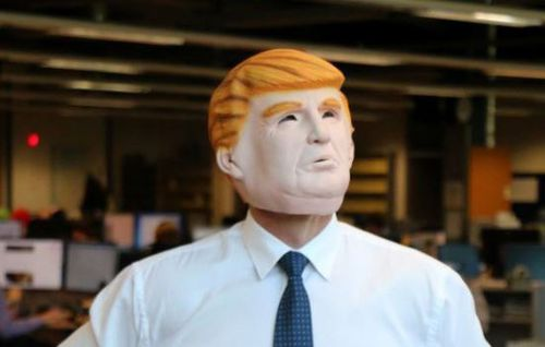 Halloween masks: The one category Donald Trump has an unassailable lead over Hillary Clinton