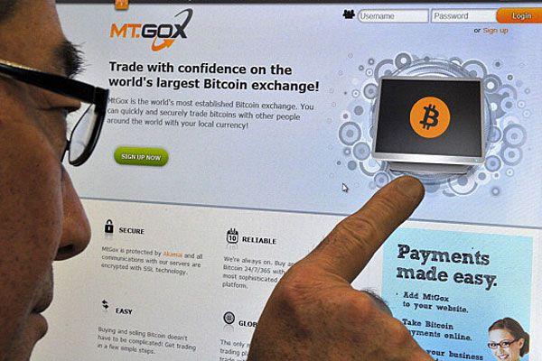 Mt. Gox bitcoin exchange