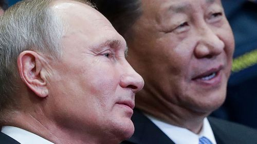 Vladimir Putin sees developing relations with China President Xi Jinping as a foreign policy priority.