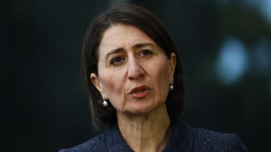 Gladys Berejiklian said riding a motorbike counts as exercise in NSW.