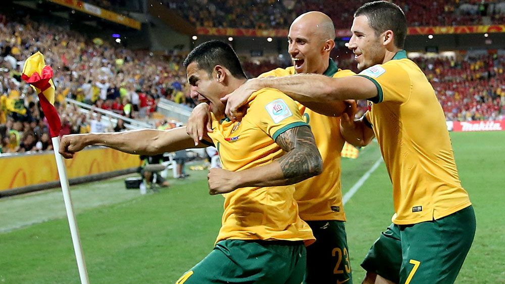 The Socceroos remain outside the world's top 50 ranked countries. (AFP)