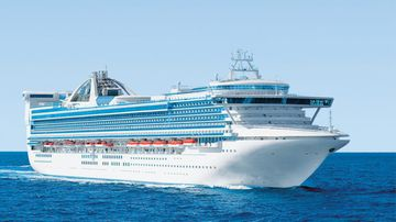 Passenger's death on cruise ship 'not suspicious'