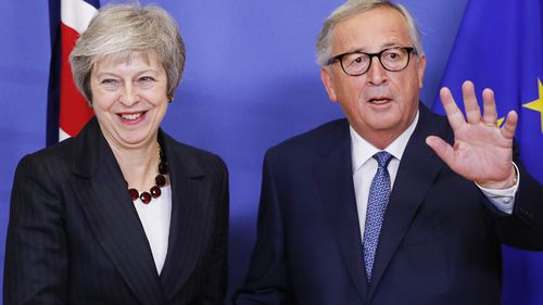 European Commission President Jean-Claude Juncker said the UK.'s departure from the EU was a tragedy and it's a bittersweet moment.