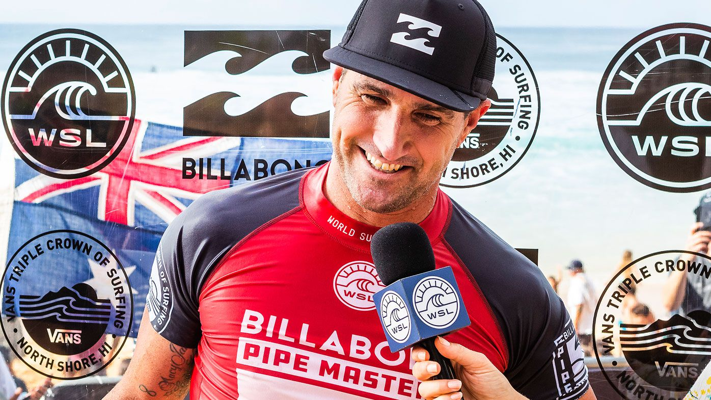 Joel Parkinson retires, Gabriel Medina crowned 2018 WSL world champion at Pipe Masters