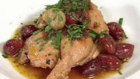 Braised Spatchcock with Olives and Capers - TETSUYA WAKUDA