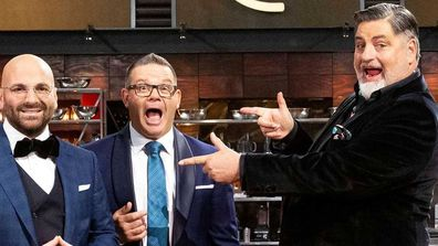 Gary Mehigan, George Calombaris and Matt Preston were spectacularly dropped from Masterchef Australia.