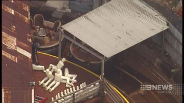 Coroner inspects re-enactment of fatal Dreamworld ride