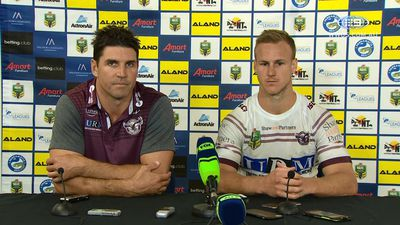 Daly Cherry Evans-Jackson Hastings blow-up no excuse for Manly Sea Eagles