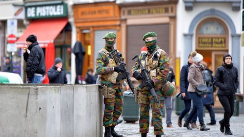 Two arrested in Belgium over alleged New Year's Eve terror plot