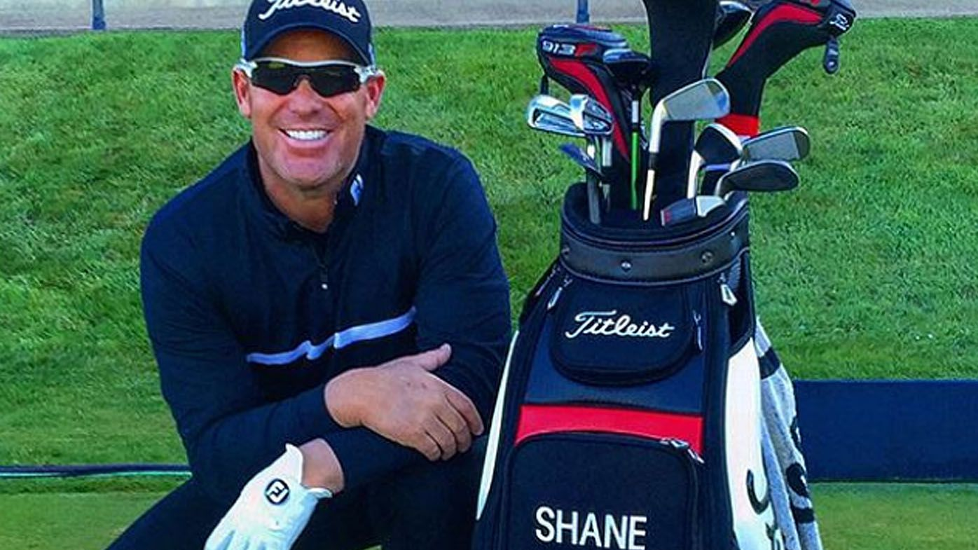 Shane Warne shoots first ever hole-in-one at Augusta National Golf Club