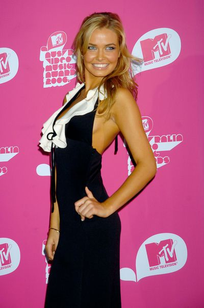 Lara Bingle at the second MTV Australia Video Music Awards in Sydney, April, 2006