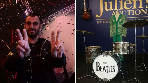 Ringo Starr puts Beatles drum kits, White Album and more up for auction