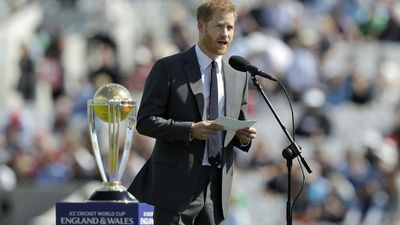 Prince Harry opens the ICC Cricket World Cup, May 2019