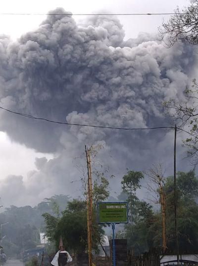 Mount Semeru, Indonesia, 2021