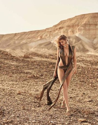 Kate Upton marks taking out coveted top spot on Maxim's hottest 100 with new photo shoot