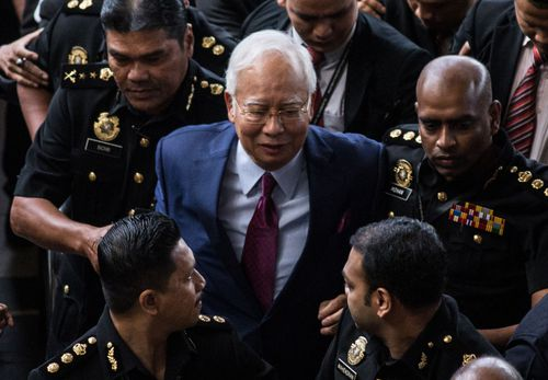 Former Malaysia Prime Minister Najib Razak.