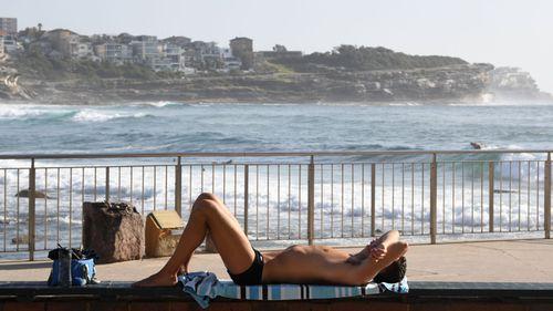 Bronte Beach in Sydney's east.
