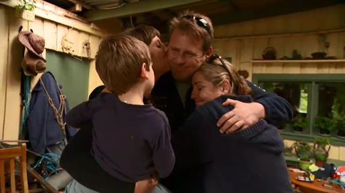 Feetham has been reunited with his family.