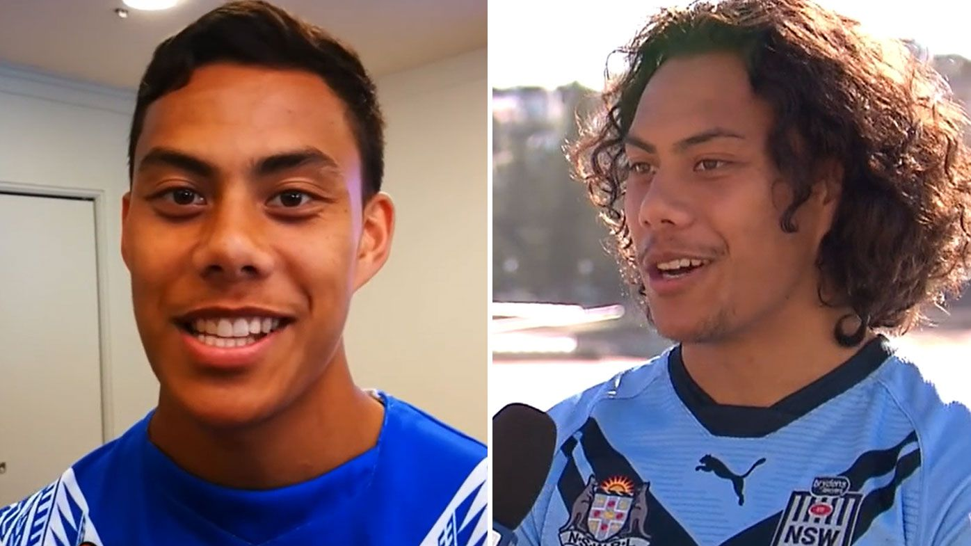 Jarome Luai clears the air over a controversial Origin video.