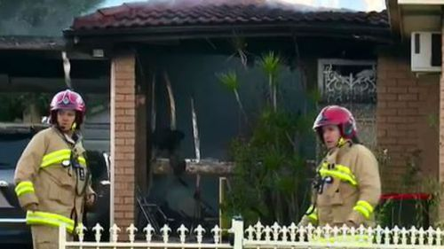 Fire crews reported to the incident earlier today. (9NEWS)
